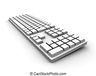 tastiera, -, bianco