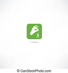 tasto origine, icone