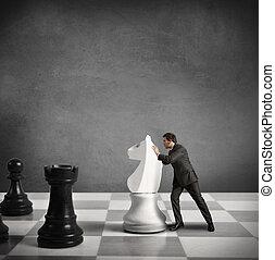 tattica, strategia affari