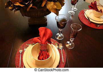 tavola cena