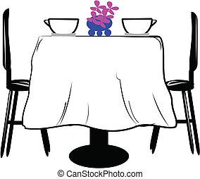 tavola, due