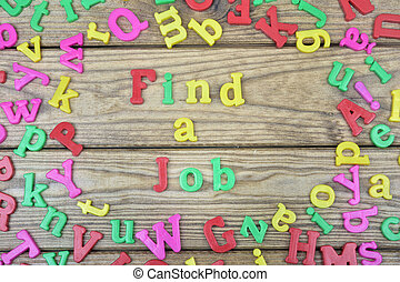 tavola legno, lavoro, trovare
