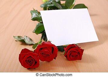 tavola, messaggio, amore