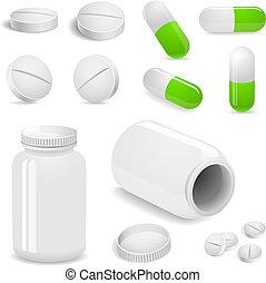 tavolette, pillole