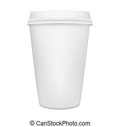 tazza caffè, isolato