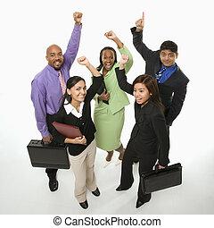 team., affari, vincente
