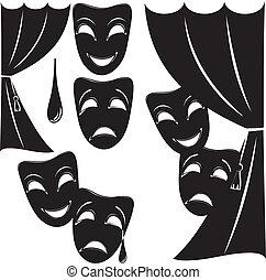 teatrale, simbolismo
