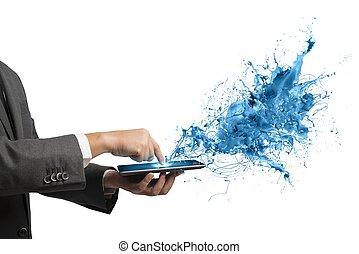 tecnologia, creativo