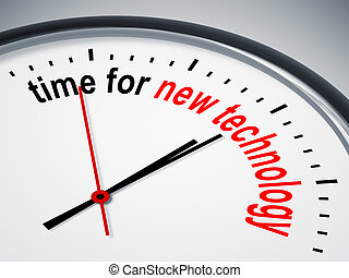 tecnologia nuova, tempo