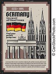 tedesco, turismo, viaggiare, limiti