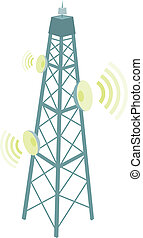 telecomunicazione, antenna