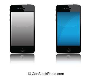 telefono cellulare, moderno