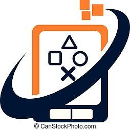 telefono mobile, app, centro