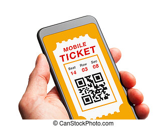 telefono mobile, biglietto, far male