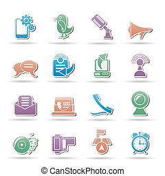 telefono mobile, icona comunicazione