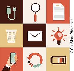 telefono mobile, illustrazione
