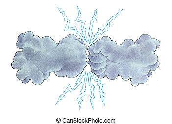 tempesta, tuono