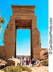 tempio, lussare, egitto, karnak