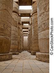 tempio, ramesseum, egypt.