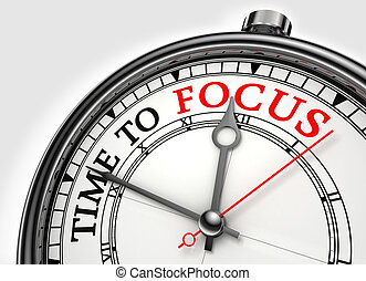tempo, concetto, closeup, fuoco, orologio