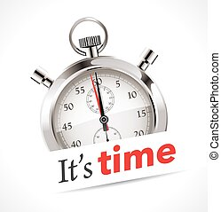 tempo, -, cronometro, è