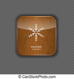 tempo, domanda, legno, icone