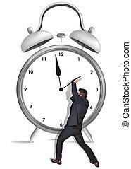 tempo, presa