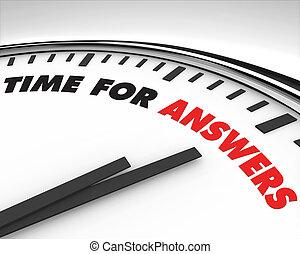 tempo, -, risposte, orologio