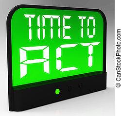 tempo, urgente, significato, atto, azione, messaggio