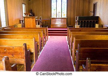 tempo, vecchia chiesa