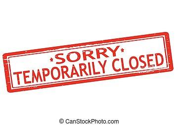 temporaneamente chiuso