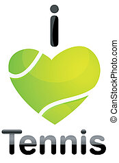 tennis, amore