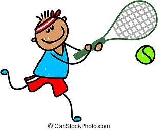 tennis, capretto
