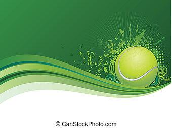 tennis, fondo
