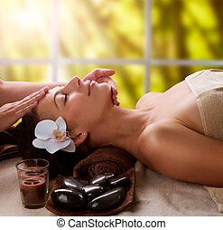 terme, massaggio facciale