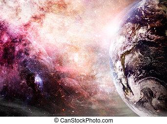 terra, creazione