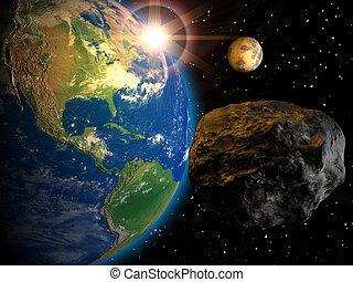 terra, meteorite
