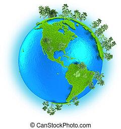 terra pianeta, americas