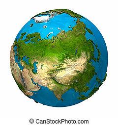 terra pianeta, -, asia