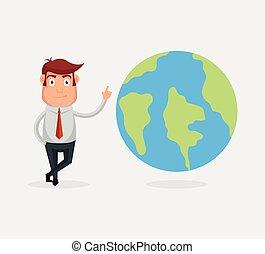 terra pianeta, carattere, uomo