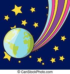 terra pianeta, disegno
