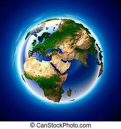 terra pianeta, ecologia, metafora, purezza