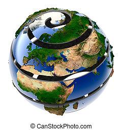 terra pianeta, elica