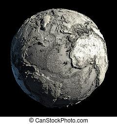 terra pianeta, morto