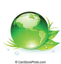 terra pianeta, verde