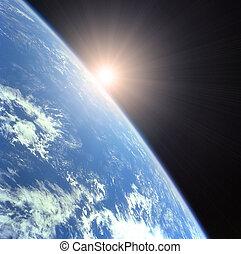 terra, sole sorgente