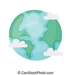 terra, spazio, stile, cartone animato, astronomia, pianeta, galassia
