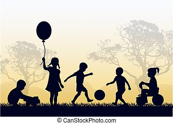 territorio, infanzia, felice