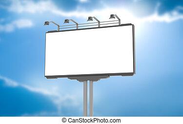 tesaurizzazione, vuoto, annuncio pubblicitario