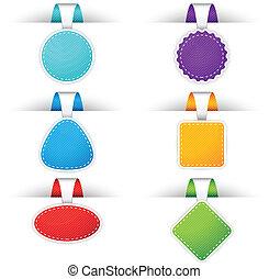 tesserati magnetici, colorito